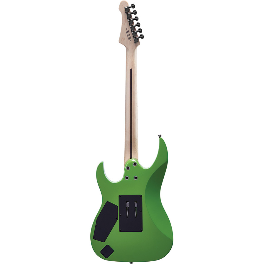 HD400MLG Mitchell Electric Guitars Metallic Lime Green