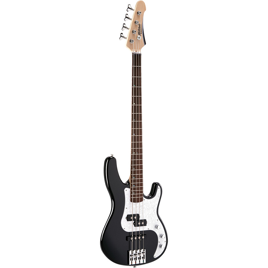 TB500BK Mitchell Electric Bass Guitar Black