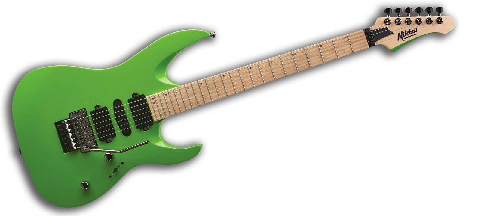 Mitchell HD400 Electric Guitars Lime Green