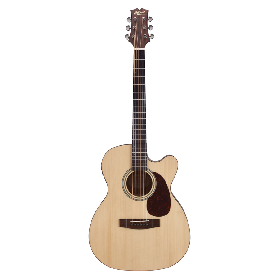 Mitchell T313CE Auditorium-Size Cutaway Acoustic-Electric Guitar