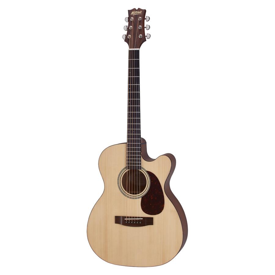 Mitchell T313ce Auditorium Size Cutaway Acoustic Electric Guitar