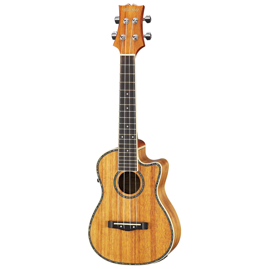 Mitchell MU100CE Acoustic/Electric Concert Ukulele