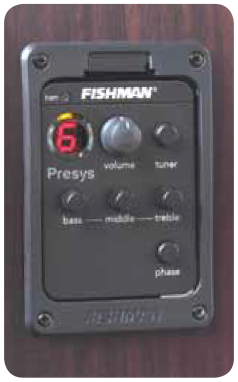 Mitchell Guitars Fishman Prefix Plus-T Preamp with Tuner