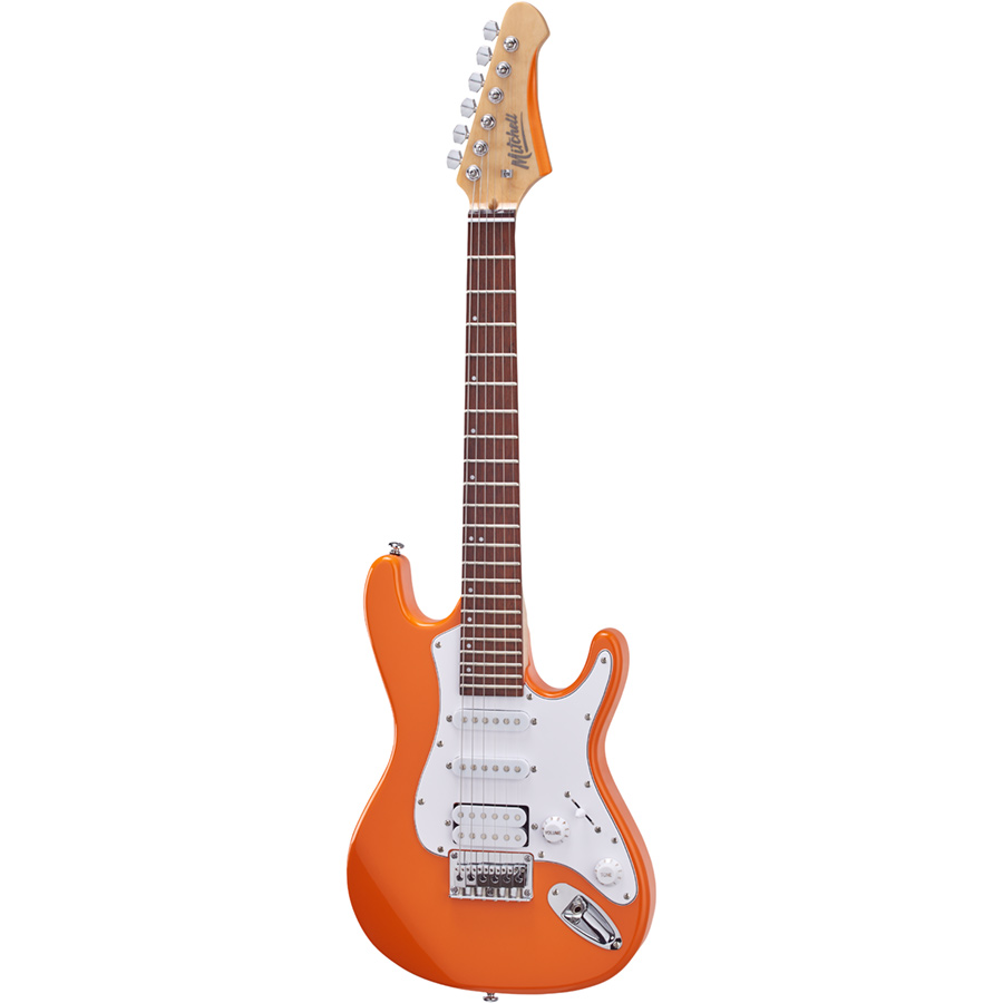 Mitchell TD100OR Mini Electric Guitar Orange