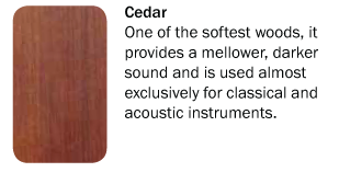 Mitchell Tonewoods Cedar