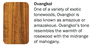 Mitchell Tonewoods Ovagkol