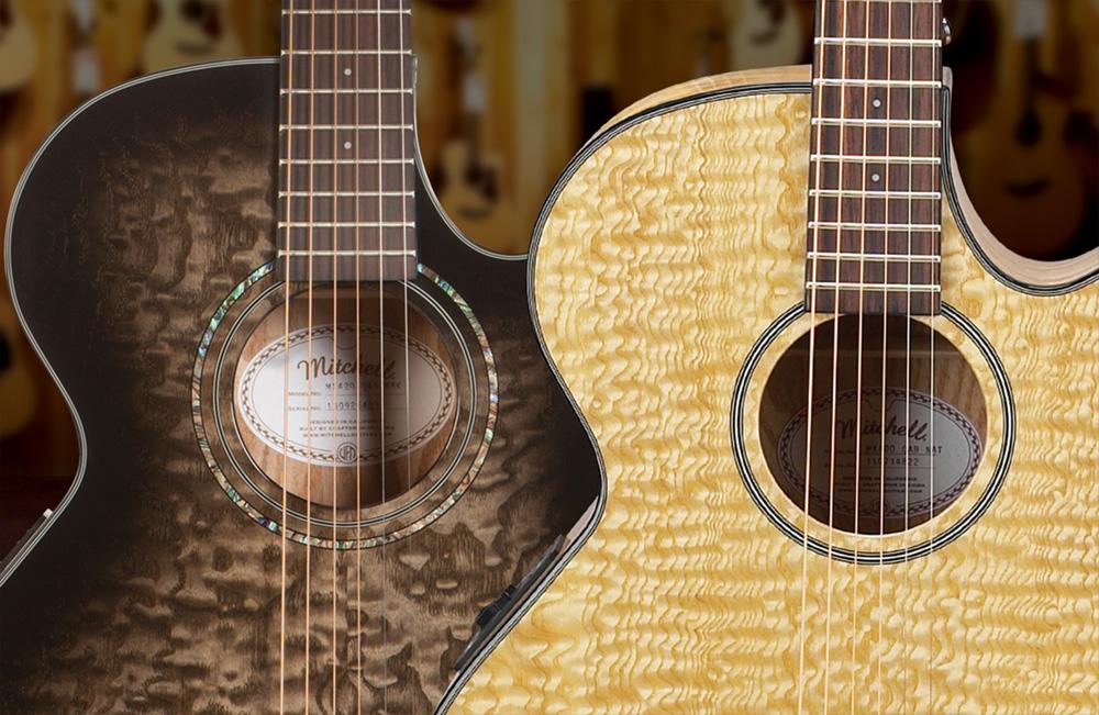Mitchell Exotic Series Guitars