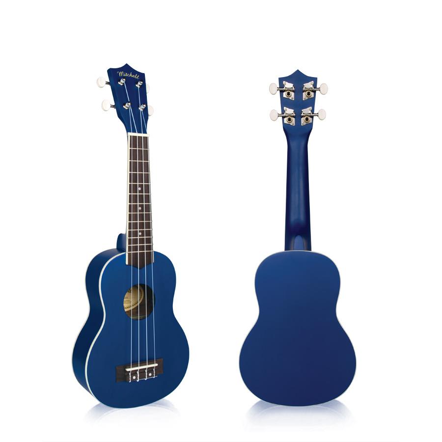 Mitchell MU40DB Soprano Ukulele Blue