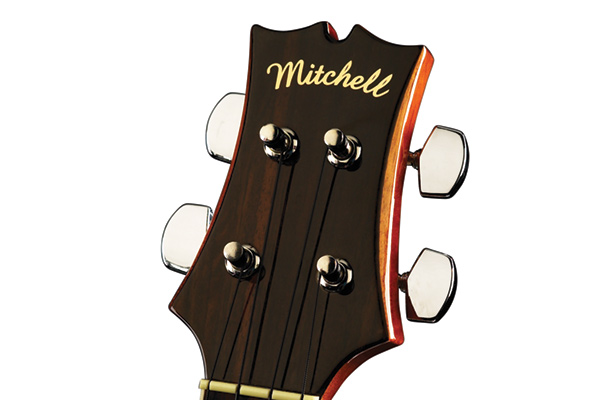 Mitchell MU70 Headstock