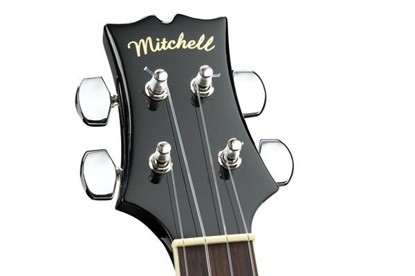 Mitchell MU75BK Headstock