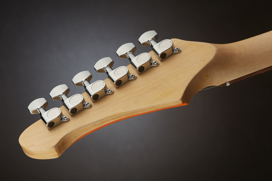 Mitchell TD100OR Headstock-Tuners