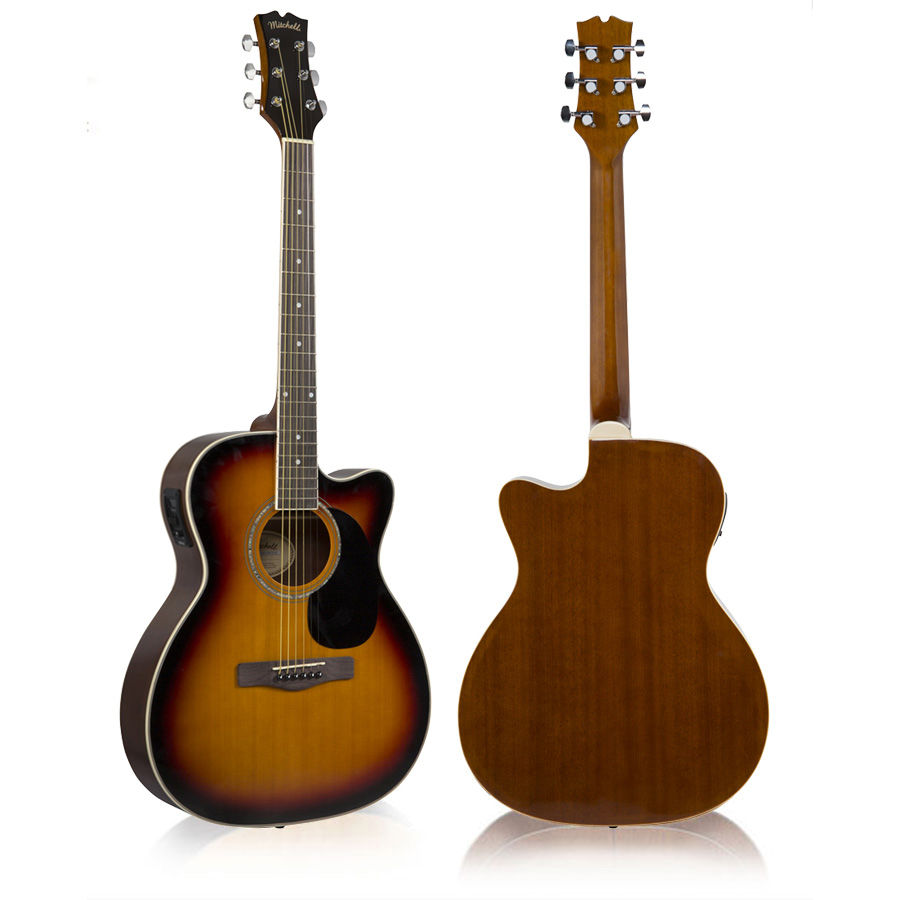 Mitchell O120CESB Cutaway Acoustic-Electric Gutar