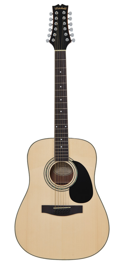 Mitchell D120S12E 12-String Acoustic Guitar