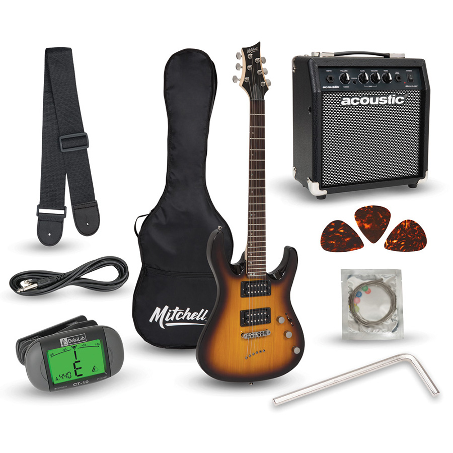 Mitchell MD150PK Electric Guitar Launch Pack