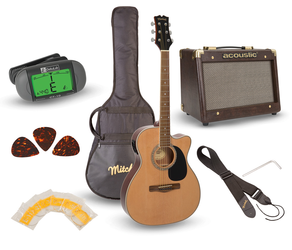 Mitchell Guitar Pack O120PKE