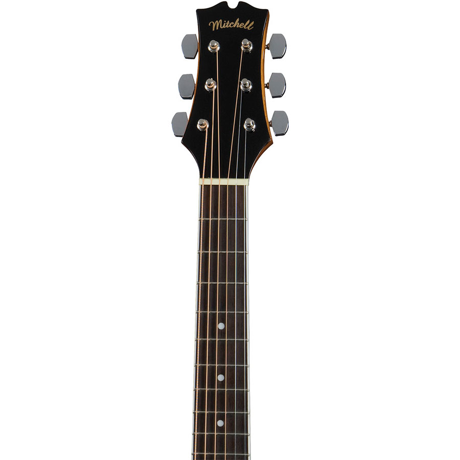 Mitchell-MDJ10-Neck-and-Headstock
