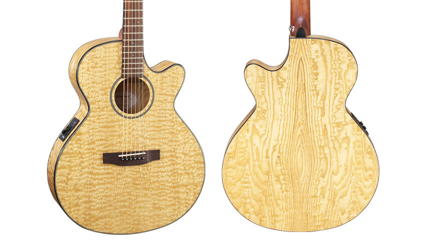 Mitchell MX400QAB Acoustic Guitar
