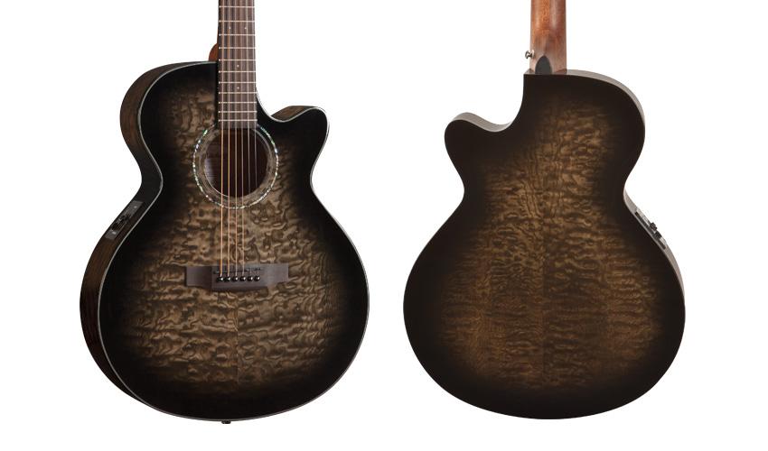 Mitchell MX420QABMBK Acoustic Guitar