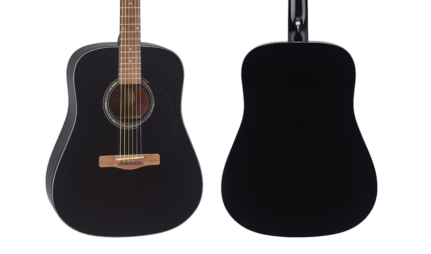 Mitchell D120BK Dreadnought Acoustic Guitar