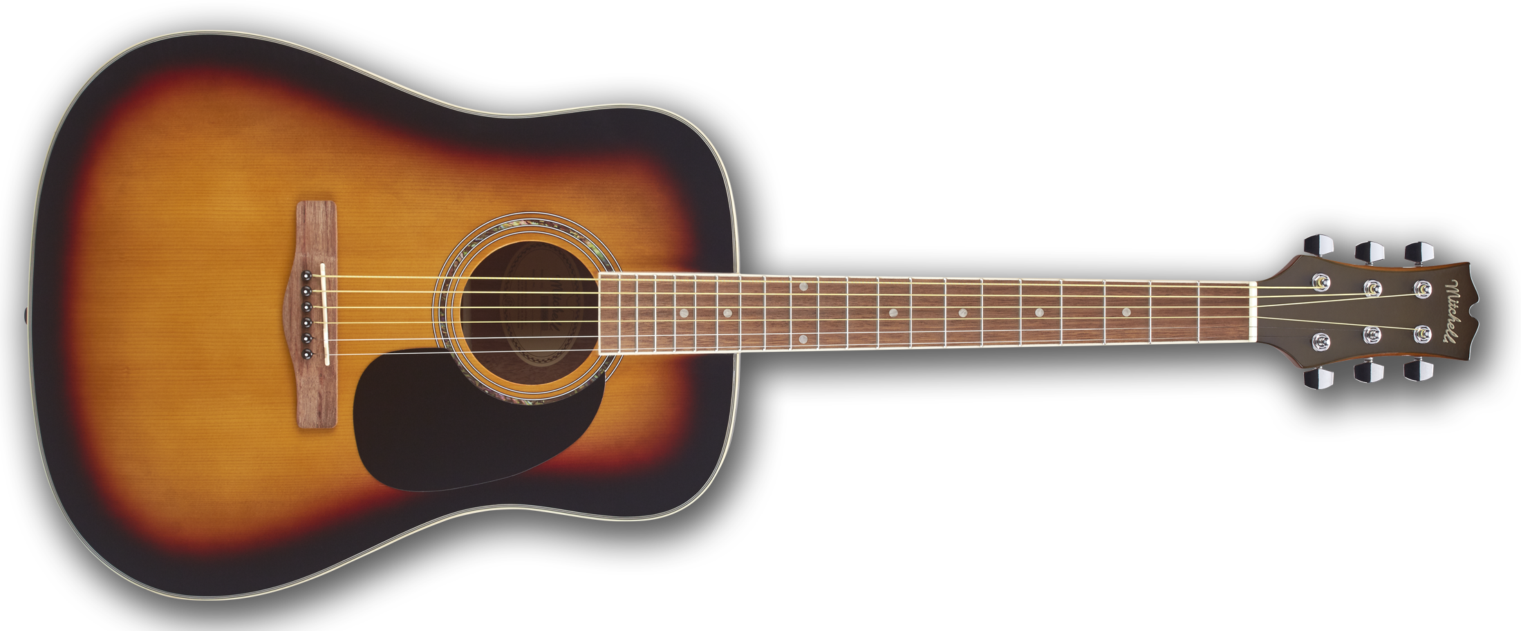 Mitchell D120SB Dreadnought Acoustic Guitar
