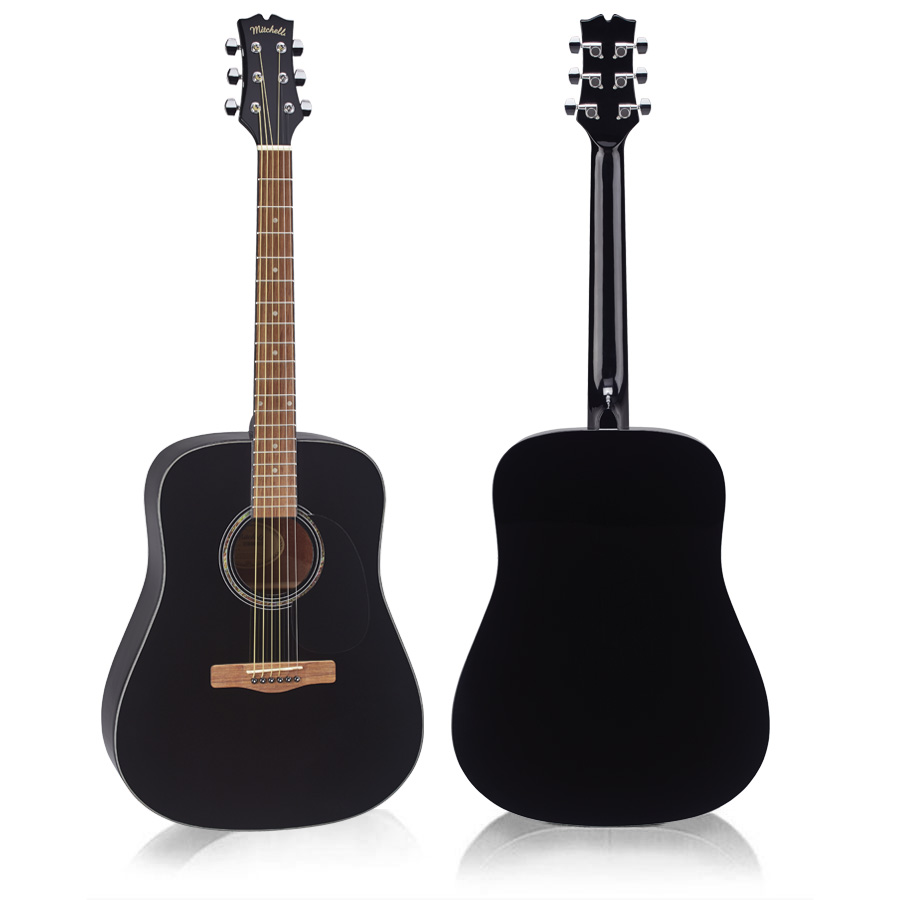 Mitchell D120BK Acoustic Guitar