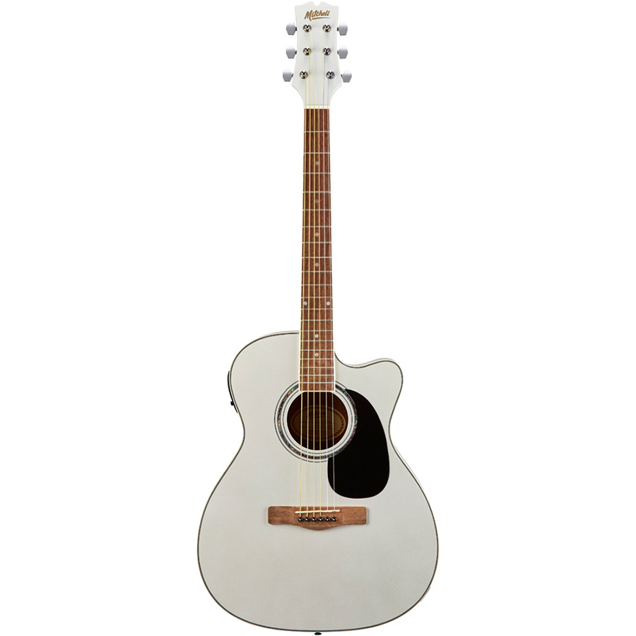 Mitchell O120CEWPM Orchestra Style Acoustic-Electric Guitar