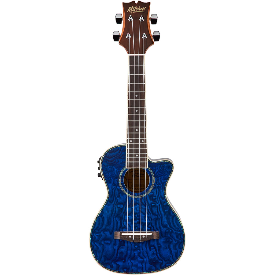 Mitchell MU80XCE Quilted Ash Blue