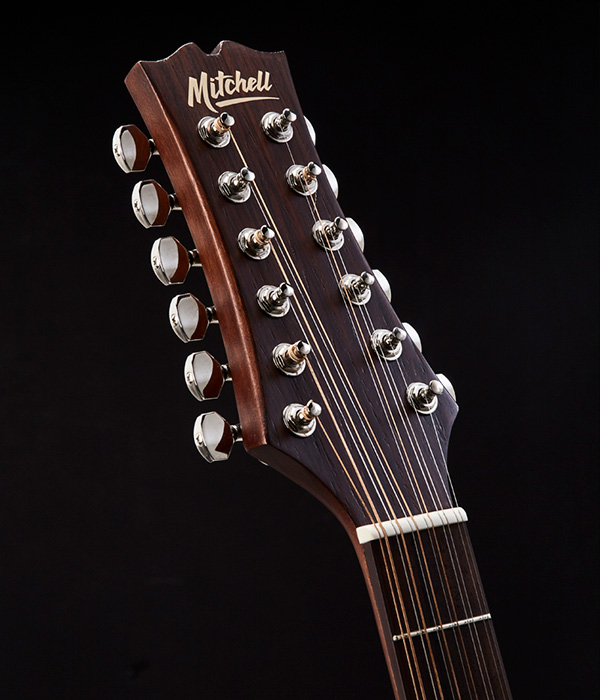 Mitchell T331TCE Headstock