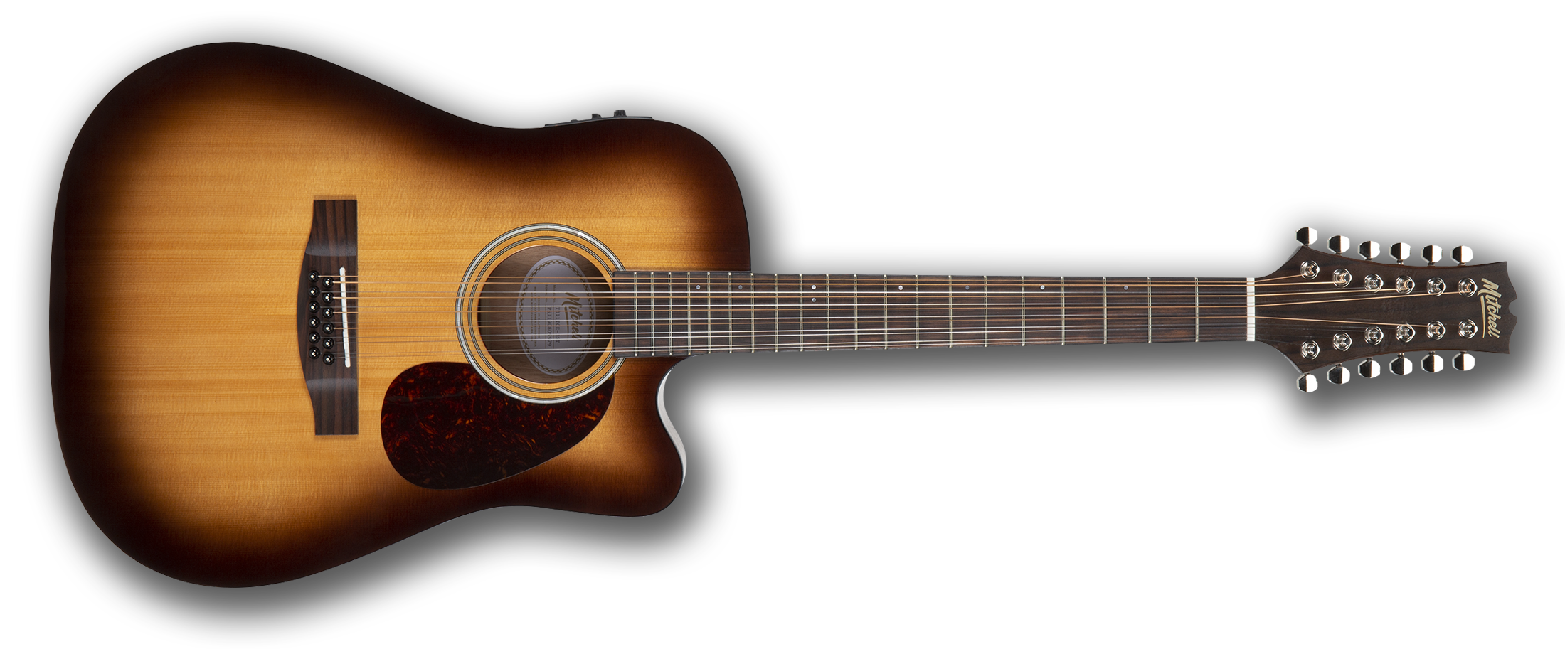 Mitchell T311TCE 12-String Dreadnought Acoustic Guitar Terra Series