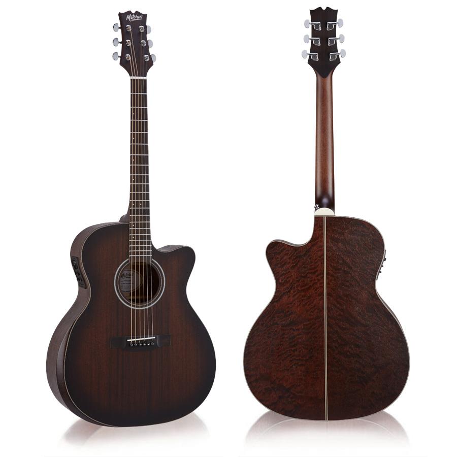 Mitchell T433CE-BST Auditorium Acoustic Electric Guitar