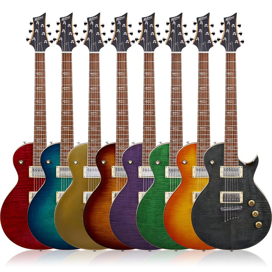 Mitchell MS450 Modern Single-Cutaway Electric Guitar