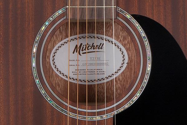 Mitchell T233E Rosette