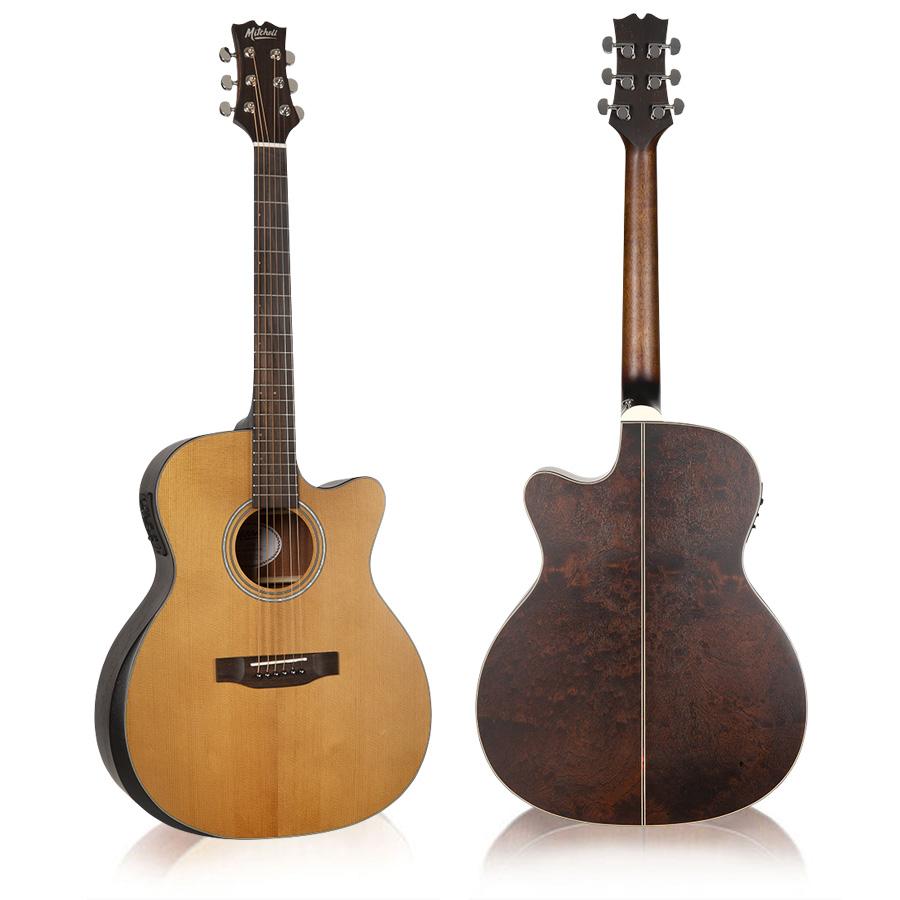 Mitchell T413CE Auditorium Acoustic Electric Guitar