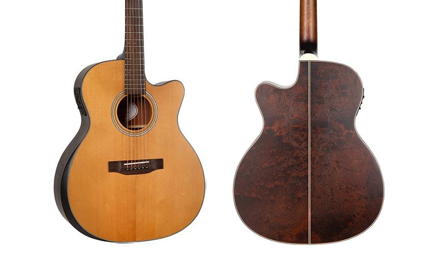 Mitchell T413CE Auditorium Acoustic-Electric Guitar