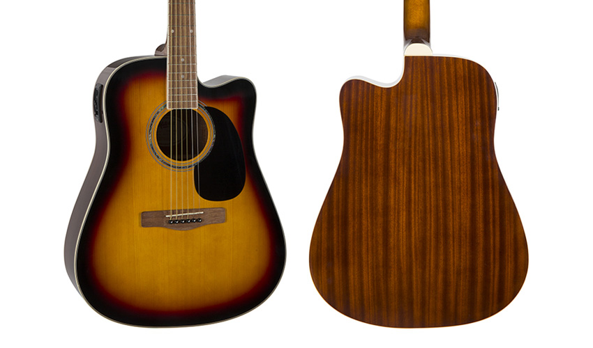 Mitchell D120CESB Acoustic Electric Cutaway Guitar