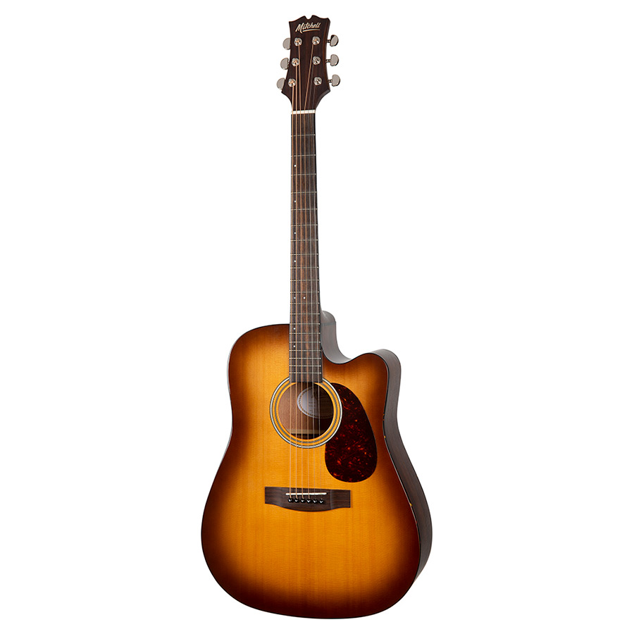 Mitchell T311CEBST Dreadnought Cutaway Acoustic-Electric Guitar
