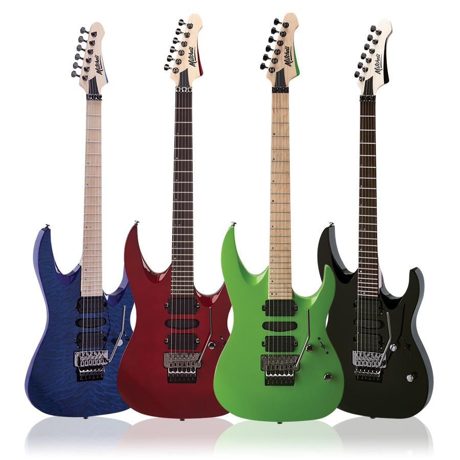 Mitchell HD400 Hard Rock Double-Cutaway Electric Guitar